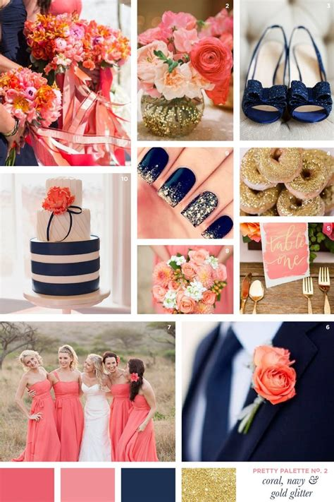 best 25 blue coral weddings navy gray and coral wedding www pixshark images