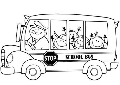 printable coloring pages school bus school bus coloring pages for kids printable