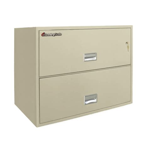 Fireproof Lateral File Cabinets Sentry 2l3600 2 Drawer File Cabinet With Rating Lateral File Cabinets Fireproof Files