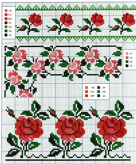 schemi di fiori a punto croce ricami e schemi a punto croce gratuiti schemi a punto