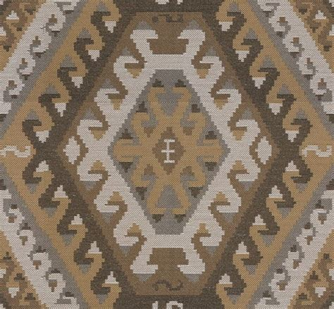 Kilim Style Upholstery Fabric by Kravet Couture Fabric Rustic Kilim Saffron 32347 614 0