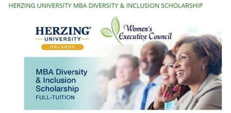 Mba Diversity Fellowship Program by Herzing Mba Diversity Inclusion Scholarship