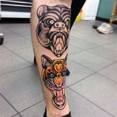tattoo designs for male legs 50 traditional leg tattoos for school design ideas