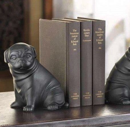 pug bookends pug bookends available from bimbo store