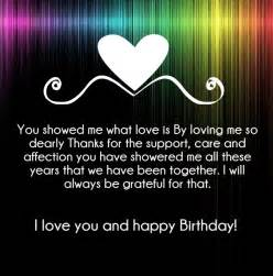 I Love You Birthday Quotes by I Love You Happy Birthday Quotes And Wishes Hug2love
