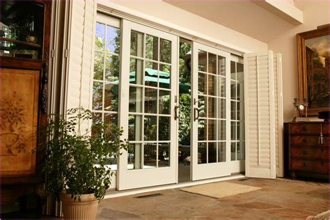 French Patio Doors With Sidelights That Open Icamblog Exterior Patio Doors