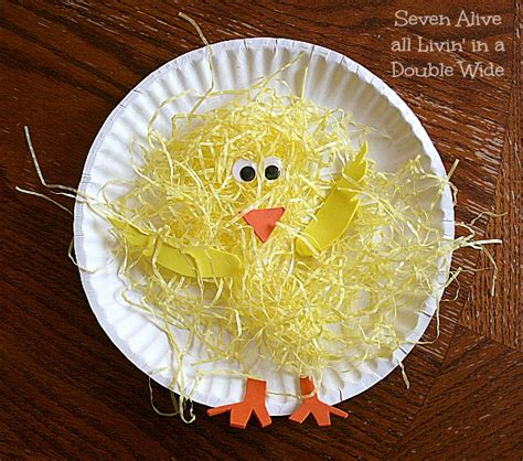 Paper Plate Chicken Craft - paper plate chickens family crafts