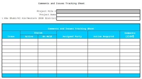 10 issue tracking templates free sle exle format