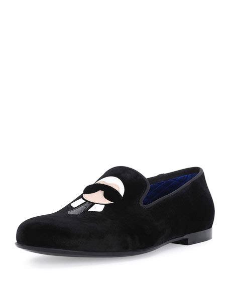 Karlito Shoes For fendi karlito formal evening slipper black neiman
