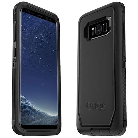 Otterbox Defender For Samsung Galaxy S8 Lombardi Black Hitam otterbox defender samsung galaxy s8 black