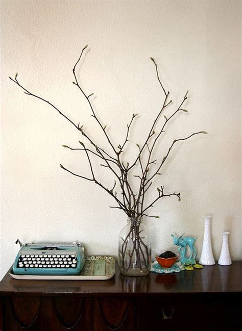 Branches In A Vase by Branches In Vase Home Centerpieces