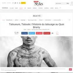 expo tattoo quai branly horaire se tatouer pearltrees