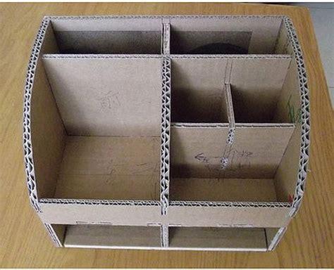 Decorative Cardboard Storage Boxes Home Organization 25 Best Ideas About Cardboard Organizer On Pinterest