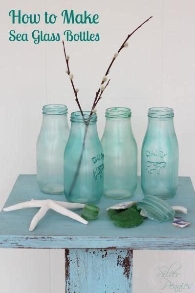Sea Glass Bottles Ideas Diy Sea Glass Bottles