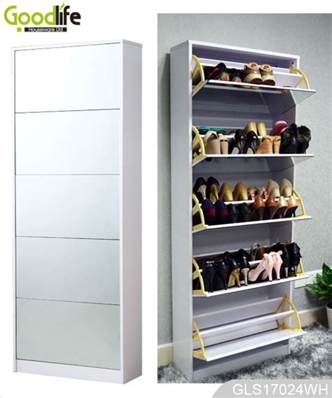 mirror shoe storage length mirror shoe storage cabinet for home