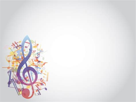 Music Themes For Powerpoint 2007   music notes backgrounds wallpaper cave