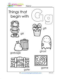 Gift Ideas Starting With Letter Y 25 best ideas about letter g worksheets on