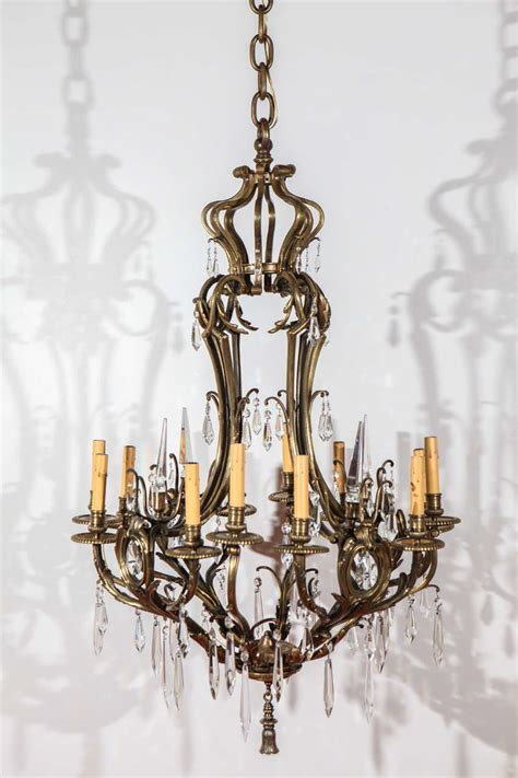 European Chandelier European Bronze And Chandelier For Sale At 1stdibs