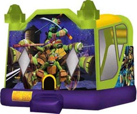 ninja turtle house party rental miami combo units combo slide