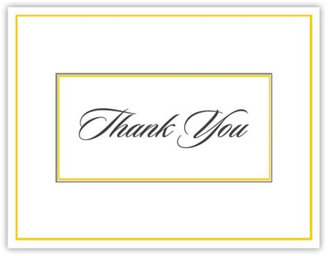 Free Professional Thank You Card Template by How To Create Professional Thank You Cards Anouk Invitations