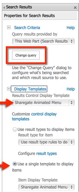 Build A Sharepoint Search Driven Animated Menu Sharegate Sharepoint Search Results Display Templates