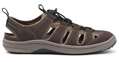 bass water shoes g h bass co stingray water sneaker in brown for lyst