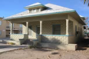 concrete block house from the arizona room 4th avenue concrete block cottage