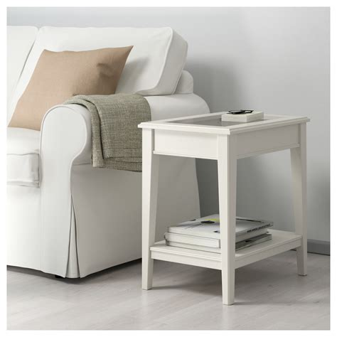 Glass Side Table Ikea Liatorp Side Table White Glass 57x40 Cm Ikea