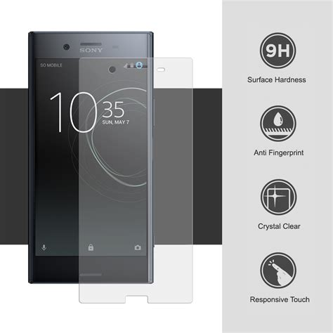 Ion Sony Xperia C Tempered Glass Screen Protector 1 9h tempered glass screen protector sony xperia xz premium