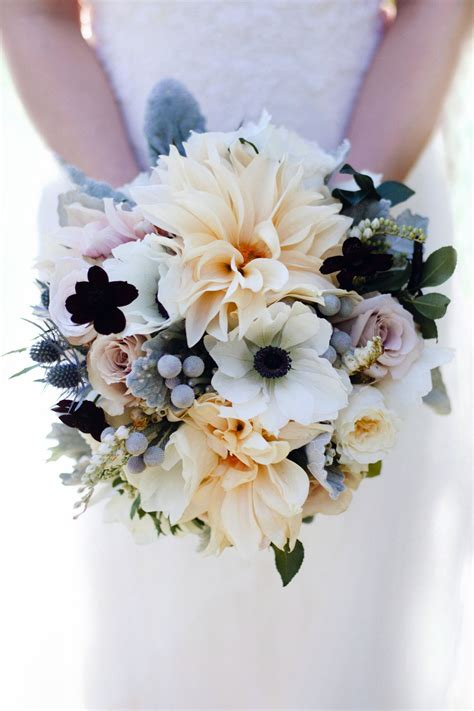 Wedding Bouquet York by New York City Rooftop Wedding Dahlia Bouquet Rooftop