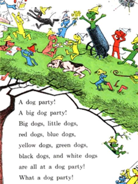 libro go dog go big it s a big dog party