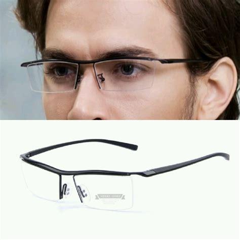 kacamata pria cainling titanium frame kacamata model terbaru jual beli frame kacamata titanium untuk lensa minus fm 01