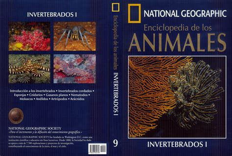 la enciclopedia de los car 225 tula caratula de national geographic enciclopedia de los animales 9 invertebrados i