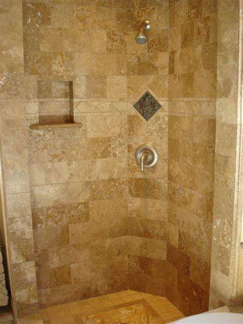 Travertine Tile Bathroom Shower Is Travertine For Bathrooms And Showers Sefa
