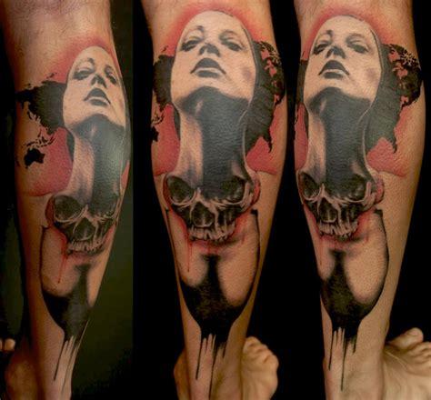trash polka tattoos deadly trash polka best ideas gallery