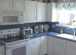 Blue Kitchens With White Cabinets by Blue And White Kitchen Cabinets Images