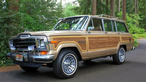 Jeep Wagoneer 2014 1990 Jeep Grand Wagoneer F176 Seattle 2014