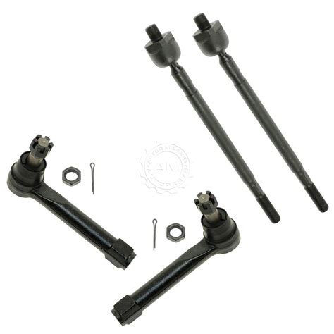 Tie Rod End Nissan Juke Rh Lh inner outer tie rod end front lh rh set of 4 for 04 09