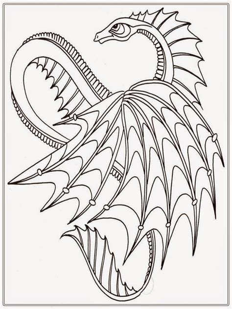 printable dragon coloring pages for adults dragon adult coloring pages