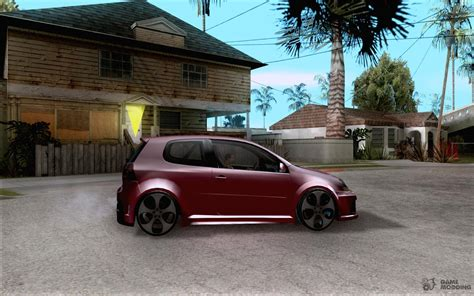 Volkswagen Golf W12 by Volkswagen Golf Gti W12 Tt Black Revel For Gta San Andreas