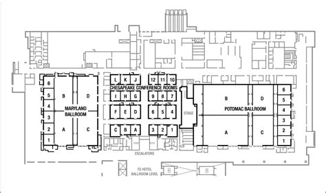 convention center floor plan business meeting venue in national harbor at the gaylord