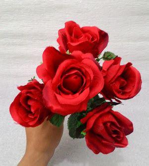 Murah Setelan Roses jual bunga mawar roses plastik murah untuk buket bunga galeri sehat keluarga