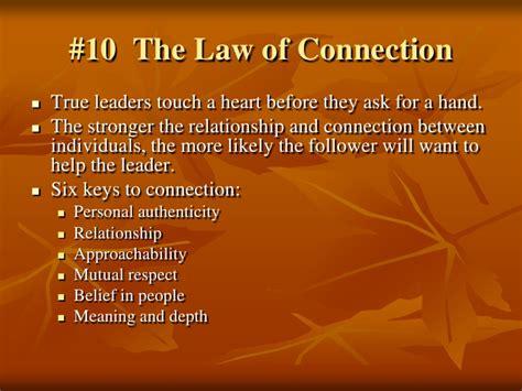 the 21 irrefutable laws of leadership seminar mcallen chamber of