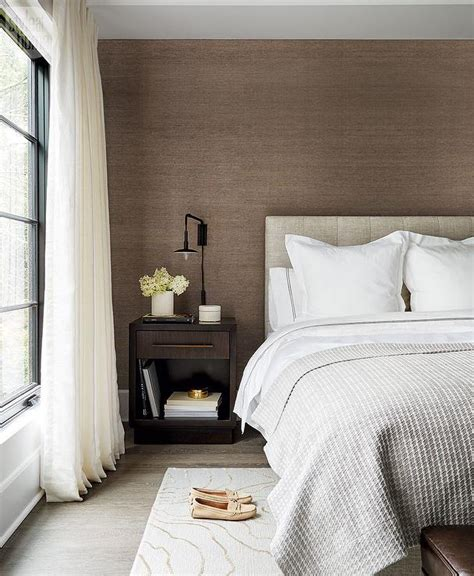 gray and brown bedroom light gray silk french pleat bedroom curtains design ideas