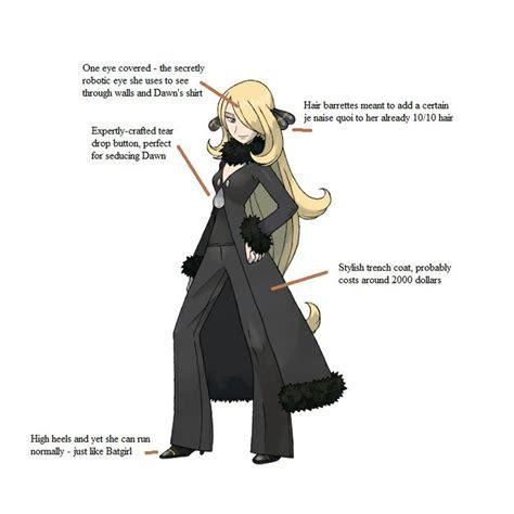Cynthia Meme - cynthia pok 233 mon anime games pinterest