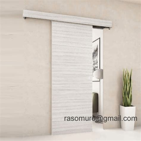 porta scorrevole esterno muro prezzo porta scorrevole esterno muro in noce weng 232 ecc completa