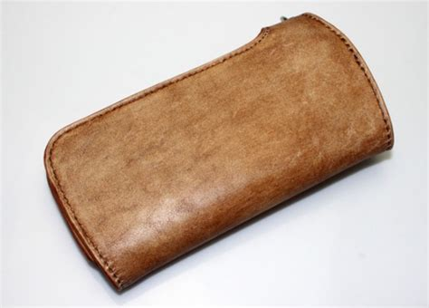 Handmade Leather Biker Wallets - handmade leather biker wallet leather coin purse bagswish