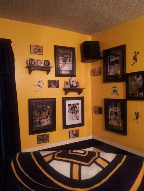 hockey room decor bruins cave hockey boston bruins cave basements and house