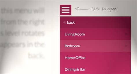 bootstrap ul layout responsive multi level menu