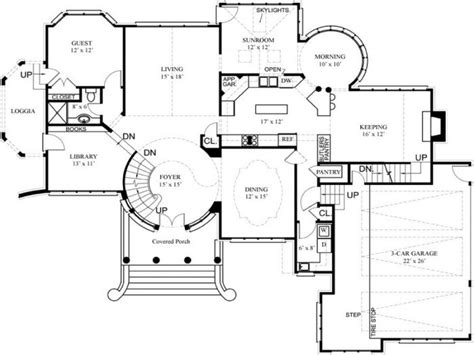 floor plans with hidden rooms luxury house floor plans and designs luxury home floor
